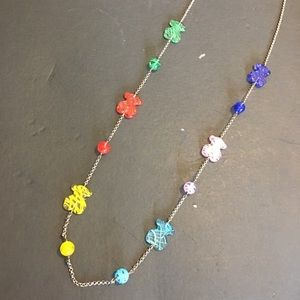 Tous authentic with Murano glass necklace